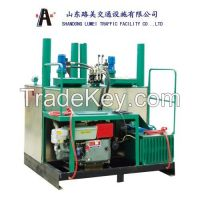 hot melt kettle thermoplastic road kettle road marking machine