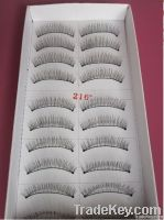 Fashion fake eyelashes 10pairs in 1 box