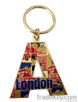 London key chain.keyring, metal keyring,