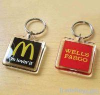 Plastic key chain, promotion keychian , Acrylic keychian