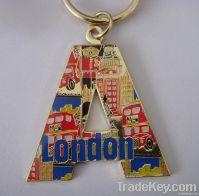 A shaped key chain, metal keychain , souvenir keychian