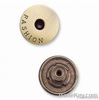 fashion buttons for garment