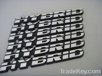 car label car badge ABS label