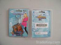 PU keychain , promotional keychain, plastic keychain