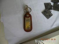 leather keychain/fashion design PU leather key holder