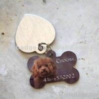 stainless steel dog tag, army tag, metal tag