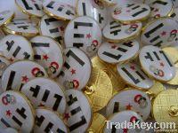 tin badge, lapel pin, pin badge, button badge