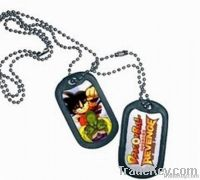 steel dog tag, army tag, metal tag, printing dog tag
