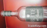hot sale wine bottle label on show