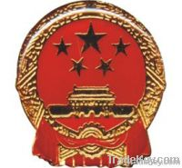 national badge ;metal badge ; tax badge