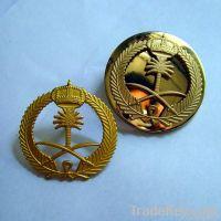 metal badge/ irregular shape badge/eagle shaped