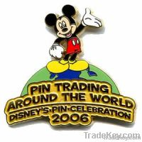 Disney pin , enamel pin , irregular pin, polished pin