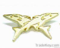 Metal Pin, metal badge , lapel pin, irrregular shape