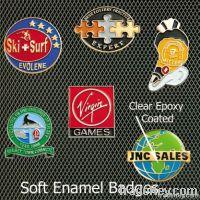 square badge , custom aluminium badge , aluminium name badge