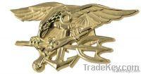embossed badge        brass badge custom , brass military badge