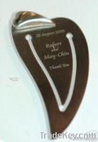 metal bookmark , fancy book tag , mini text mark