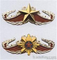 aluminium badge, square badge , custom aluminium badge , badge alumin