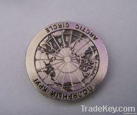 gold souvenir coin , anniversary  coin , metal coin