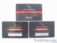 member card, ID card , VIP card , promotion card