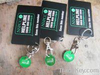 Maitreya key chain, promotional key chain , alloy key chain