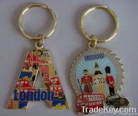 Epoxy key chain, good beautiful promotional key chain/key holder , ch