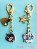 fashional accessory , handbag decoration , key chain