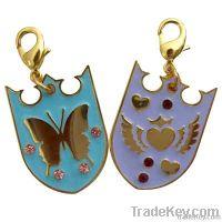 Sunflower Shaped Key Chain, charm key chain , fashion key chain