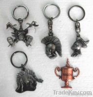 custon key ring , bone shape keychian , metal keyhold
