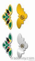 collar pin, pin badge , lapel pin , butterfly shape pin , brooch