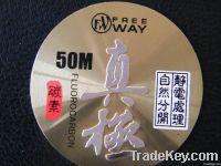 aluminum badge for fish tackle, metal plates , metal labels ,