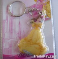 key chain /key holder/ key ring /PVC key chain, disney keychain