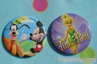 tin badge/ button badge /pin badge /hard rock pin/ disney pin