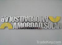 custom car badge/ car label /ca sticker/ABS car label