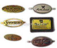 metal luggage label luggage tag luggage nameplate