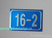 car plates from china