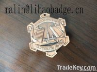brand badge, metal label, product label, car label