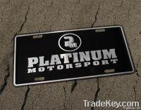 Custom Adhesive Metal or ABS Chrome Car logo Sticker