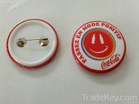 Metal lapel pin Sticker