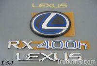 Car Chromed Label