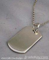 stainless steel dog tag, military dog tag, ID dog tag, metal dog tag