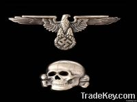 2012 Fashion Metal skull wing Cufflinks