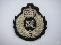 Fashionable Custom Hand Embroidery Badge Wholesale