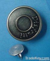 2012 fashion buttons, jeans button, clothes buttons