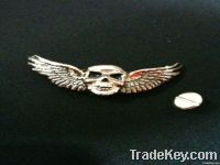 2012 Fashion Metal skull wing Cufflinks