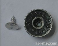 Fashion style metal snap button for clothing