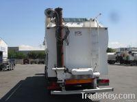 Feed semi trailer tank