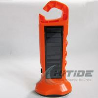 waterproof Solar Flashlight for night light