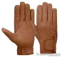 All Leather Riding Gloves