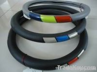 Low Price car accessories pvc steering wheel cover 38*8.2cm