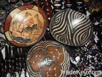 Wood bowl art